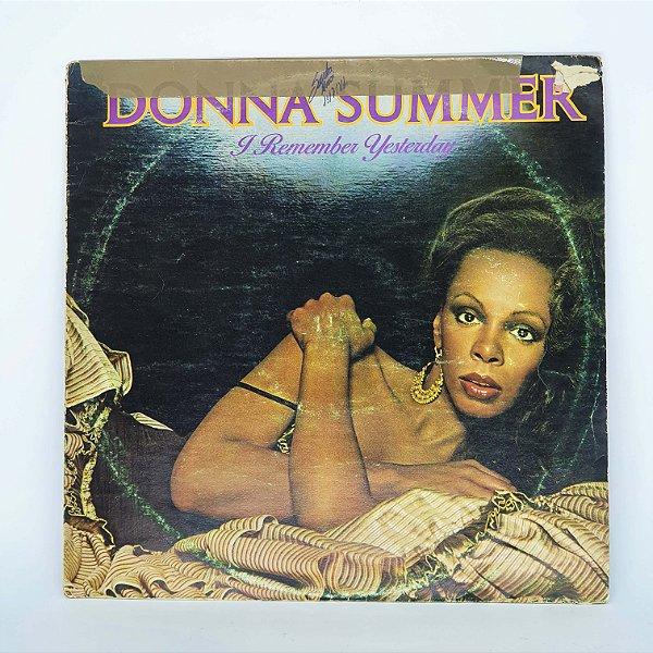 Disco de Vinil - I Remember Yesterday - Donna Summer