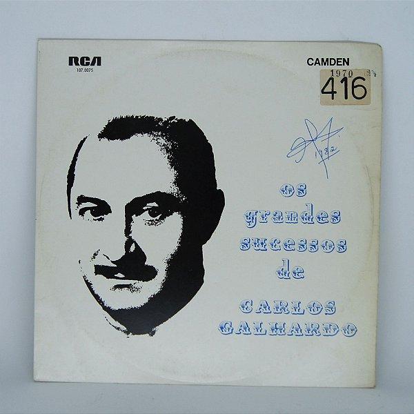 Disco de Vinil - Carlos Galhardo - Os Grandes Sucessos