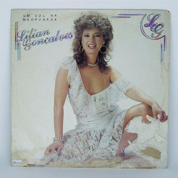 Disco de Vinil - Lilian Gonçalves - Um Sol na Madrugada