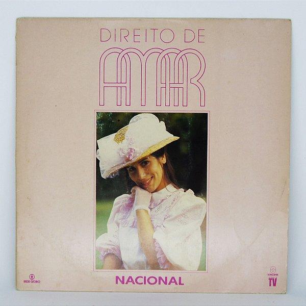 Disco de Vinil - Direito de Amar - Nacional