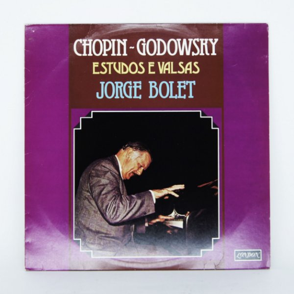 Disco de Vinil - Jorge Bolet - Chopin Godowsky