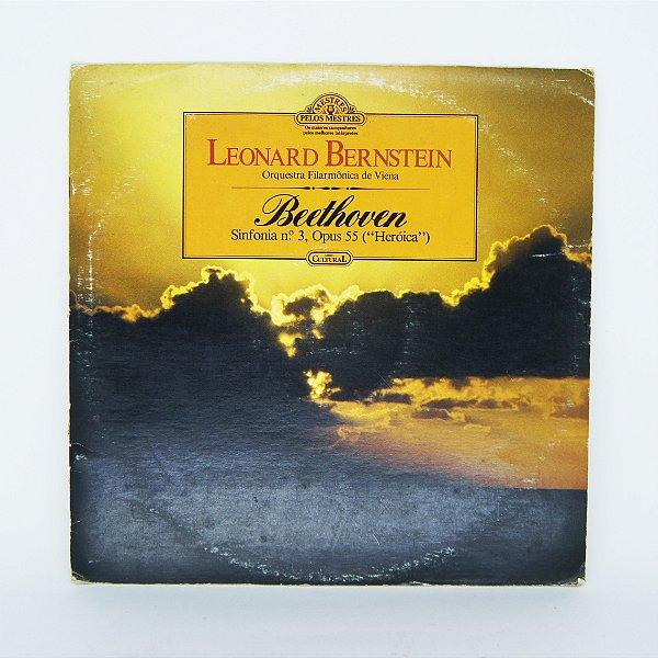 Disco de Vinil - Leonard Bernstein - Beethoven