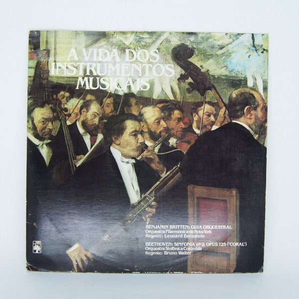 Disco de Vinil - A Vida dos Instrumentos Musicais ( Duplo )