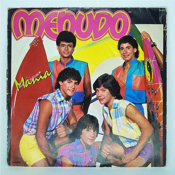 Disco de Vinil - Menudo - Mania