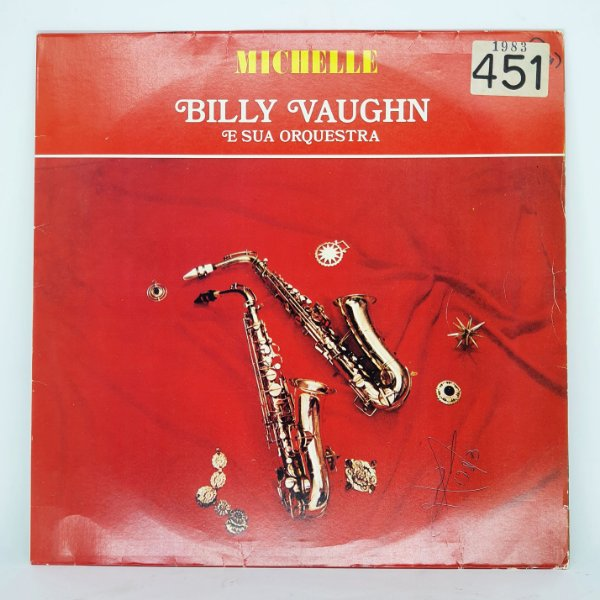 Disco de Vinil - Michelle Billy Vaughn e Sua Orquestra 1983