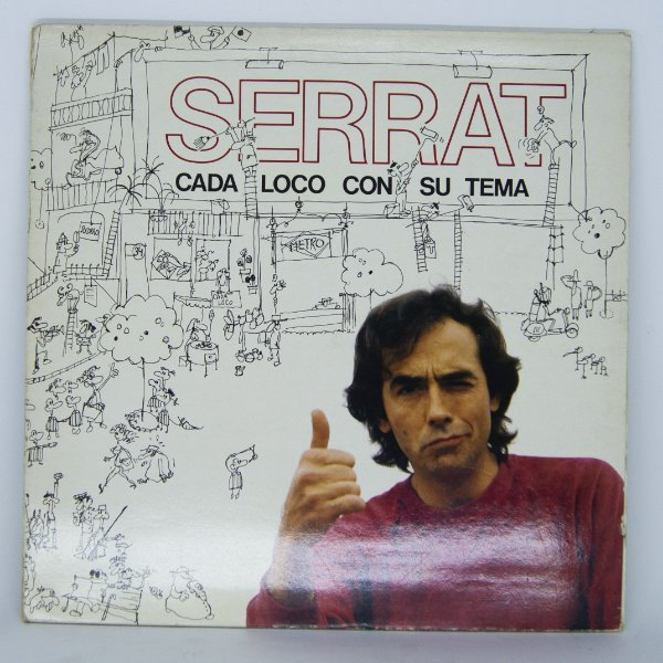 Disco de Vinil - Serrat - Cada Loco Con Su Tema (Importado)