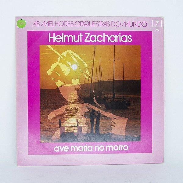 Disco de Vinil - Ave Maria no Morro - Helmut Zacharias