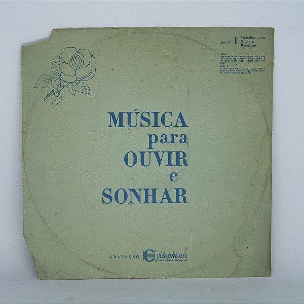 Disco de Vinil - Música Para Ouvir e Sonhar n° 1