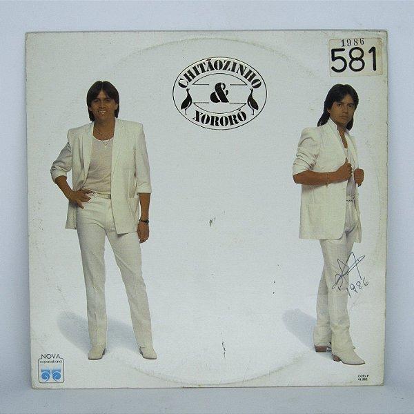 Disco de Vinil - Chitãozinho e Xororó - 1986