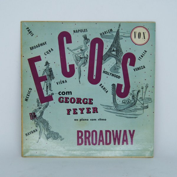 Disco de Vinil - Ecos - Broadway - George Feyer