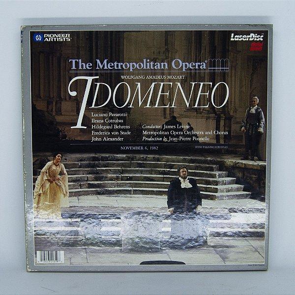 Laser Disc - The Metropolitan Opera - Idomeneo