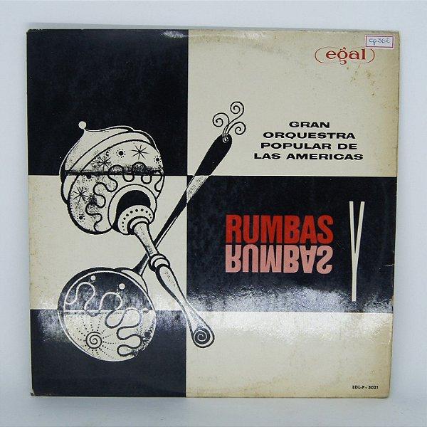 Disco de Vinil - Rumbas y Rumbas