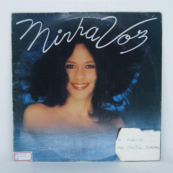 Disco de Vinil - Minha Voz / Gal Costa