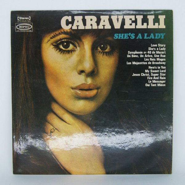 Disco de Vinil -She's Lady - Caravelli