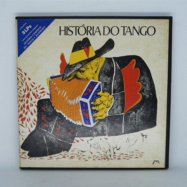 Disco de Vinil - História do Tango (3 LP's)