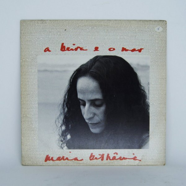 Disco de Vinil - A Beira e o Mar / Maria Bethânia