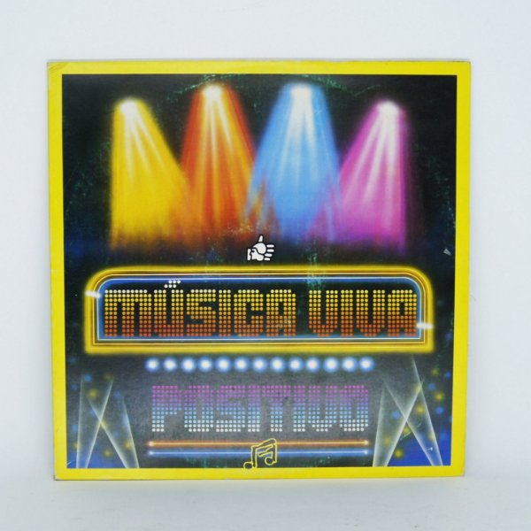 Disco de Vinil - Música Viva Positivo
