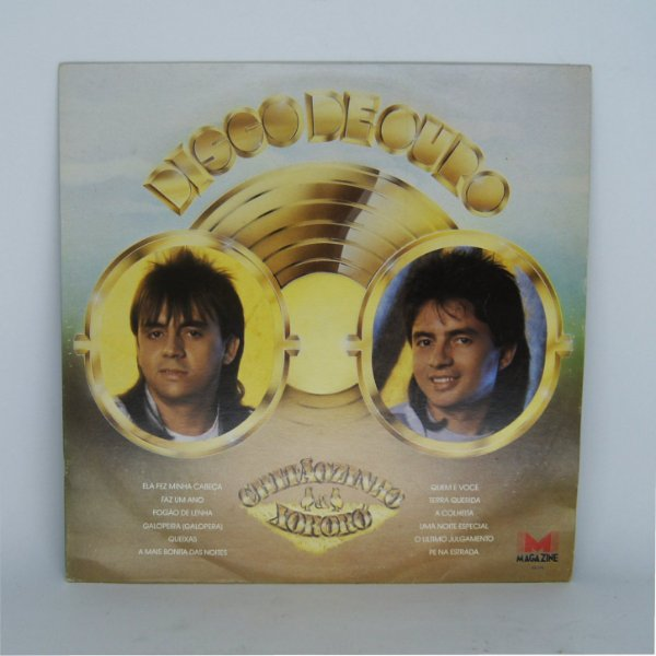 Disco de Vinil - Chitãozinho e Xororó - Disco de Ouro