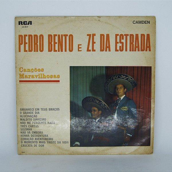 Disco de Vinil - Canções Maravilhosas - Pedro B. e Zé da Es.