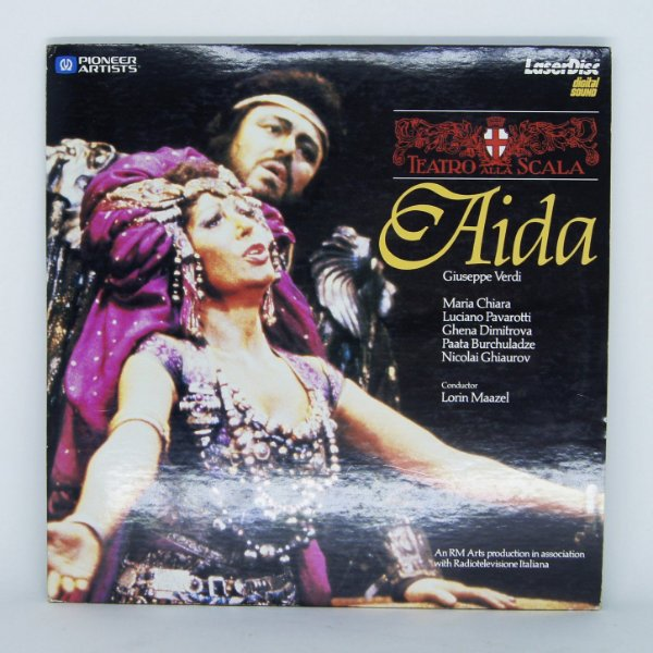 Laser Disc - Aida / Teatro Alla Scala / Giuseppe Verdi