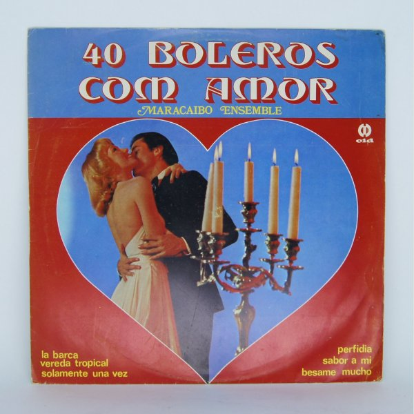 Disco de Vinil - 40 Boleros com Amor / Maracaibo Ensemble
