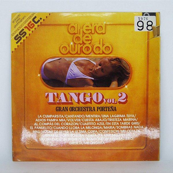 Disco de Vinil - A Era de Ouro do Tango vol. 2
