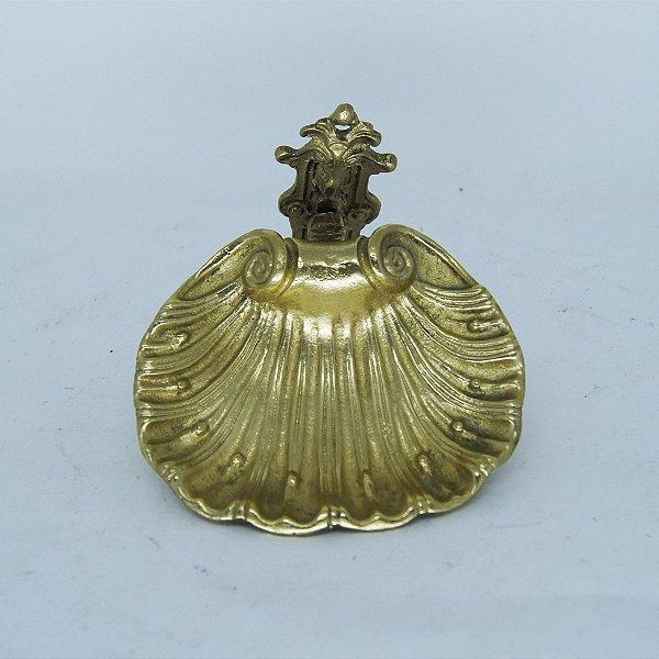 Saboneteira em Bronze em Formato de Concha