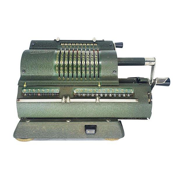 Máquina Registradora Sueca Antiga em Ferro