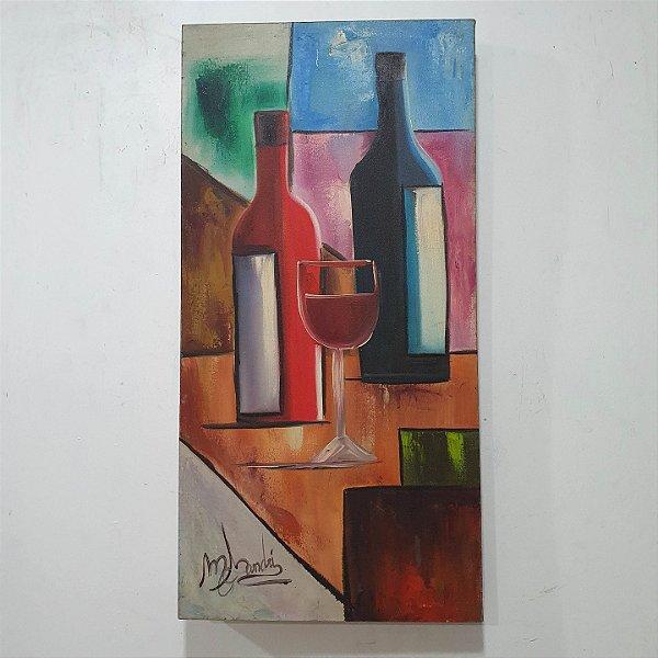 Quadro Vinhos - M. Sandri