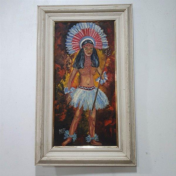 Quadro Mulher Indígena - Daisy 2000