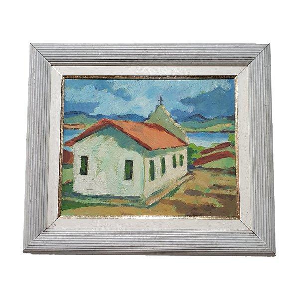 Quadro 'Igreja' Artista Desconhecido