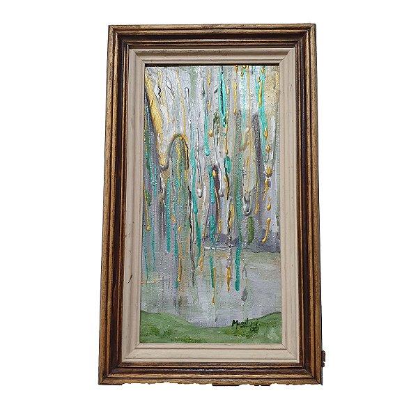 Quadro 'Pintura a Óleo Abstrata' Marilusi