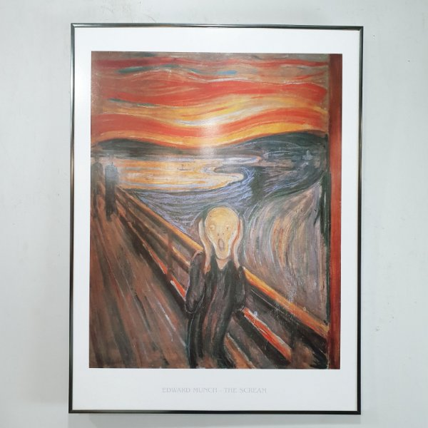 Quadro The Scream Edvard Munch