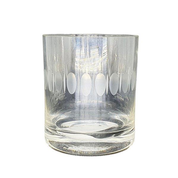 Copo P/ Wisky em Cristal Lapidado UNI