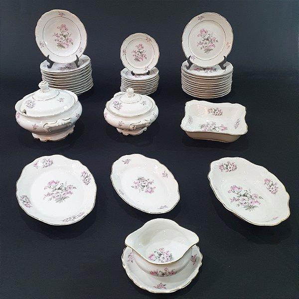 Aparelho de Jantar em Porcelana Schmidt Rio do Testo