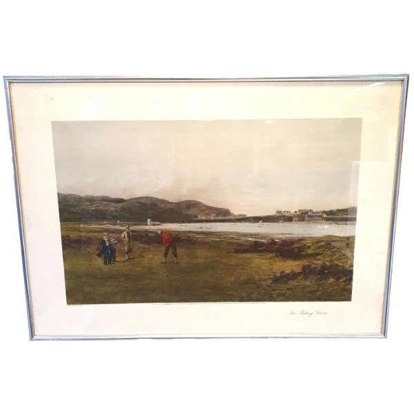 Quadro The Putting Green 15.05.1894 Douglas Adams