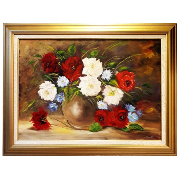 Quadro 'Vaso de Flores' 'Bonatto'