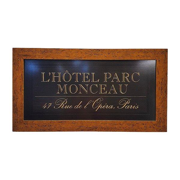 Quadro L'Hôtel Parc Moncean 47 Rue de L'Ópera