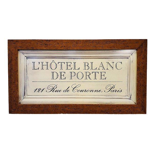 Quadro L'Hôtel Blanc de Porte 121 Rua Di Courone