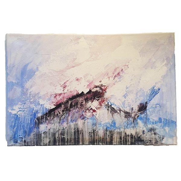 Quadro/Painel Abstrato Artista Krambeck (80Ax120L)