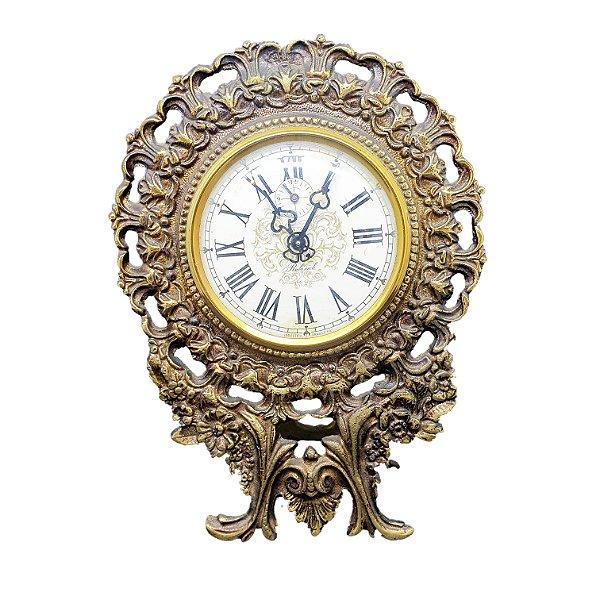Relógio de Bronze Despertador