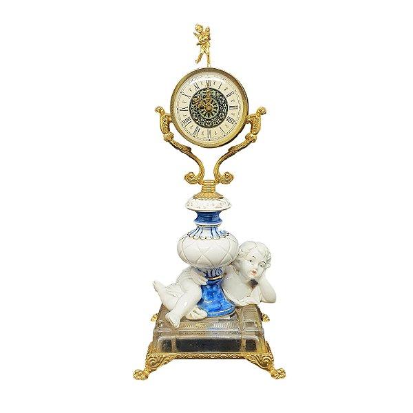 Relógio de Porcelana Italiano (Não Funciona)