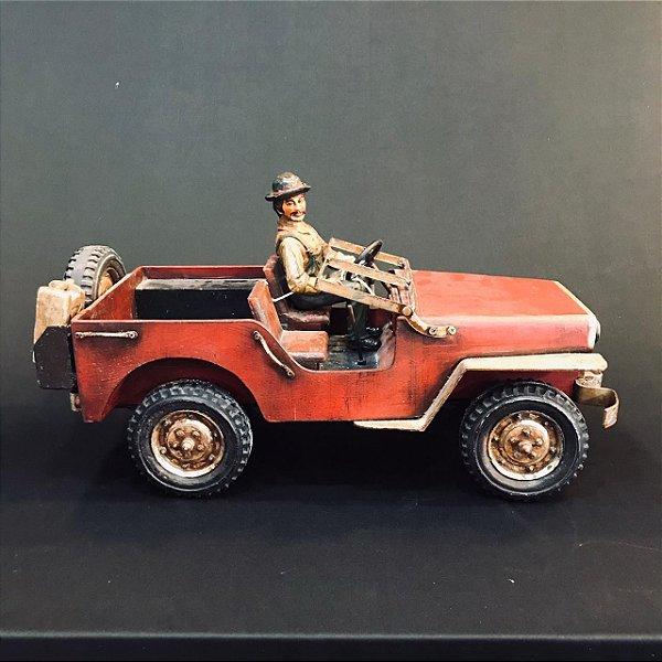Jeep Réplica Antiga de Madeira