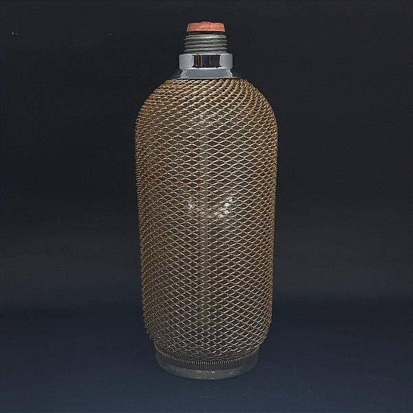 Garrafa de Vidro Tcheca de Gás