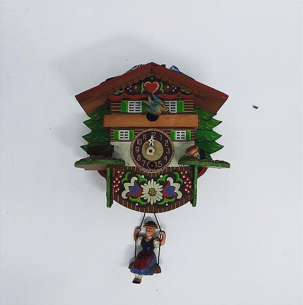 Relógio Alemão de Corda Década 60