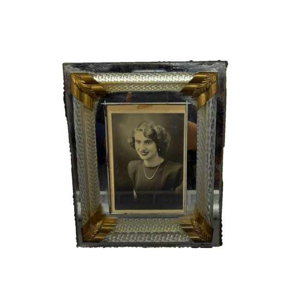 Porta Retrato Anos 50 Fundo Espelhado