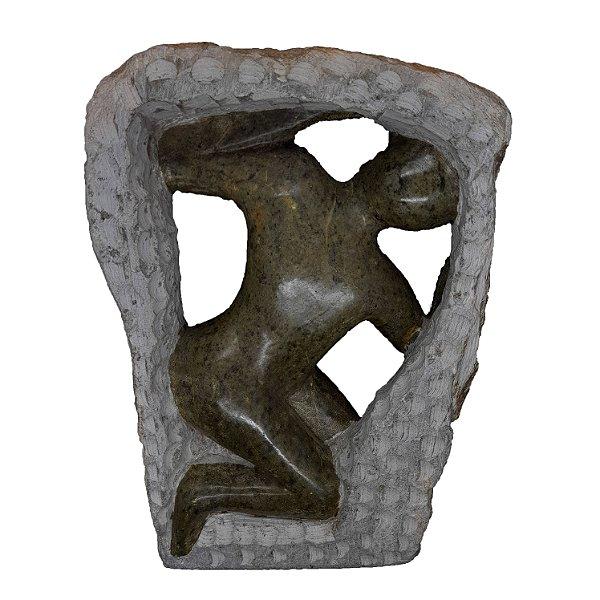 Escultura em Pedra Sabão