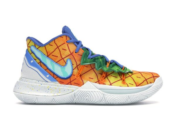 Fielmente Nublado Clínica  Nike Kyrie 5 Coleção Bob-Esponja - Casa Abacaxi - Boutique ZeroUm |  Conceito Hype de A-Z