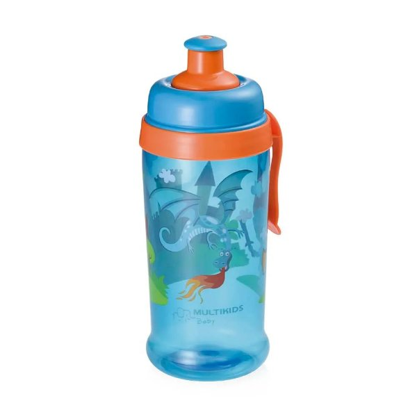 Copo Squeeze Grow Azul Multikids Baby Bb031