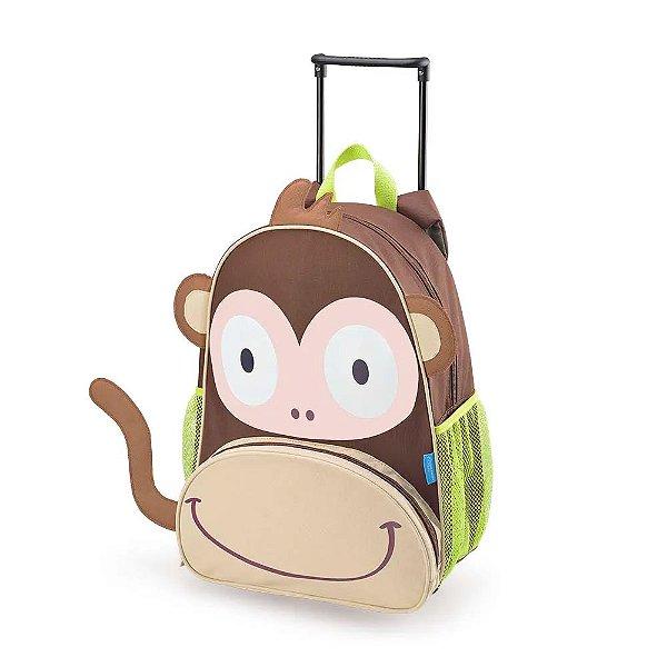Mochila Infantil Com Rodinhas Macaco Multikids Baby - BB276